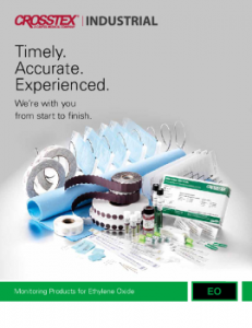 Download Crosstex Industrial Ethylene Oxide Sterilisation Monitoring Products Catalogue