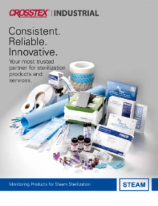 Download Crosstex Industrial Steam Sterilisation Monitoring Products Catalogue
